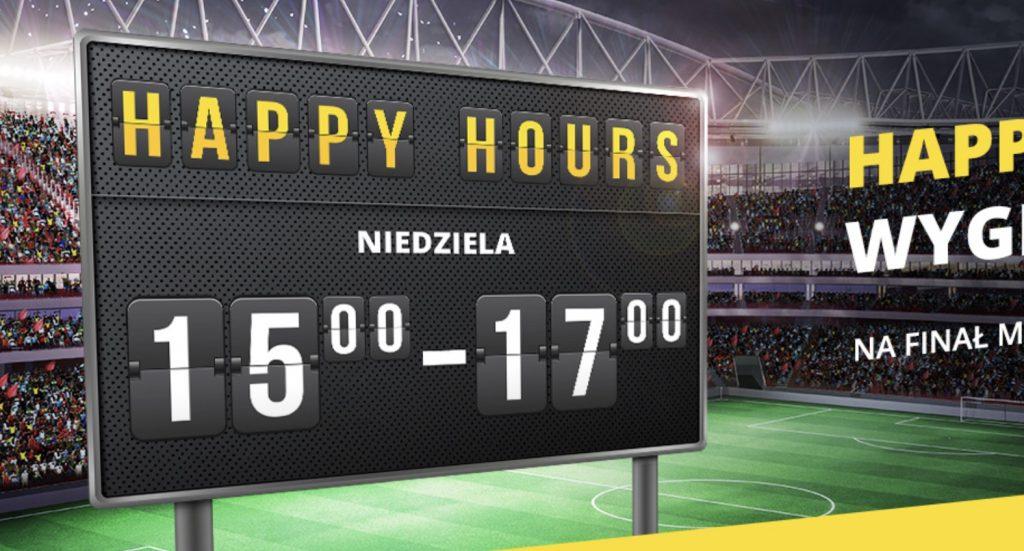 Jak wygrywać więcej u bukmachera? Oto promocja Happy Hours!