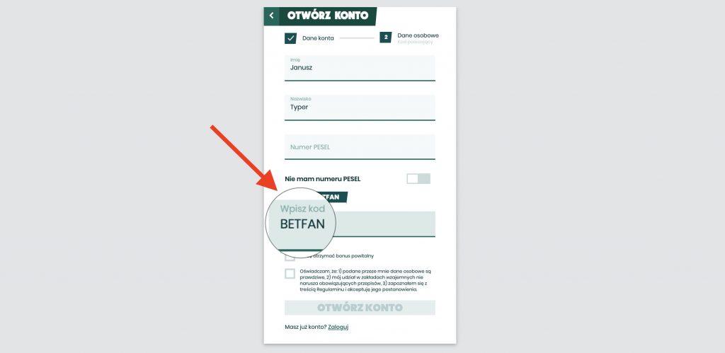 Betfan bonus 2020